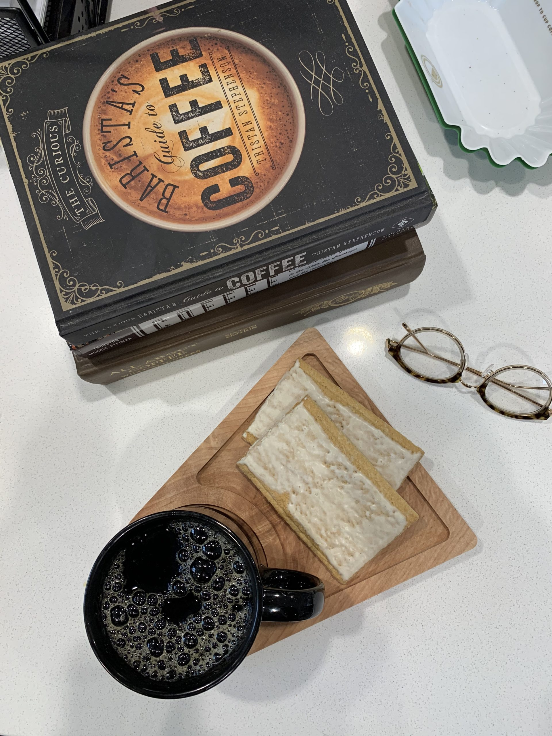 Crafted Wood Coffee and Breakfast Board